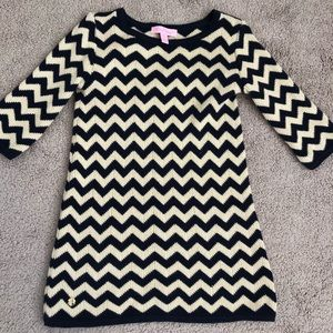 Little Girls' S (4-5) Gemma sweater dress